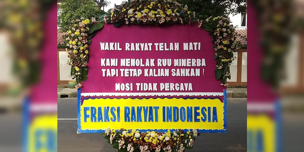 Surat Terbuka Rakyat Indonesia Kepada Presiden dan DPR