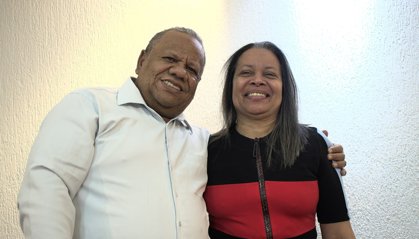 Pastores Nafer y Benicia Velaides