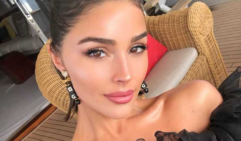 Olivia Culpo's Instagram live stream from July 27th 2019.
