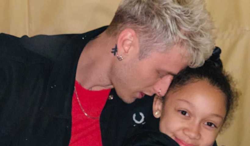Machine Gun Kelly's Instagram Live Stream with his daughter Casie from February 3rd 2020.