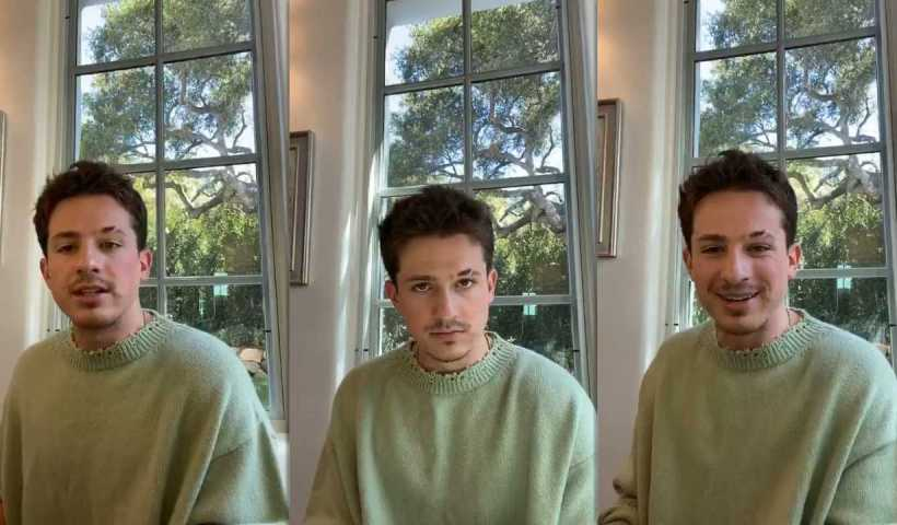 Charlie Puth's Instagram Live Stream from March 18th 2020.
