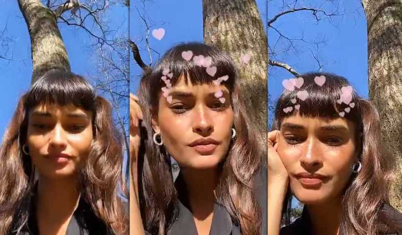 Gizele Oliveira's Instagram Live Stream from March 24th 2020.