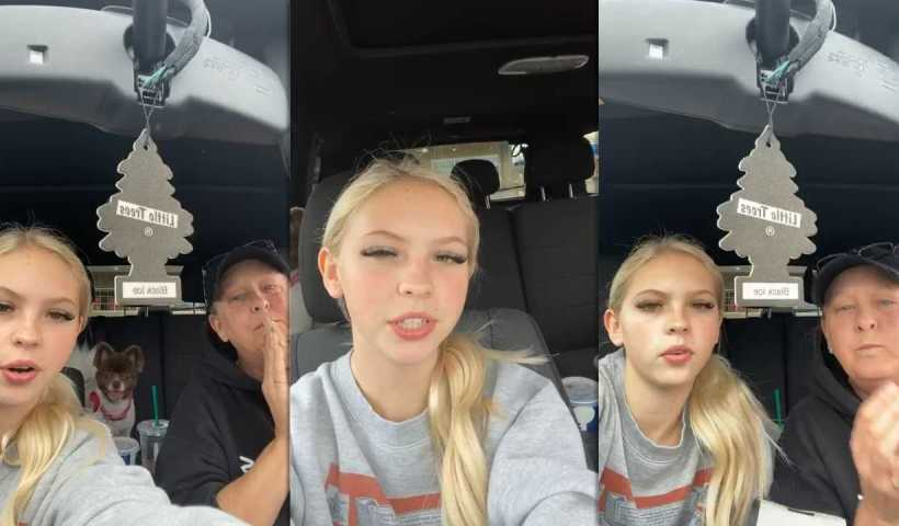 Jordyn Jones Instagram Live Stream from March 21th 2020.