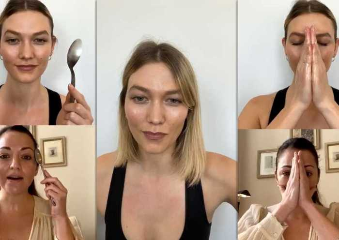 Karlie Kloss Instagram Live Stream from March 26th 2020.