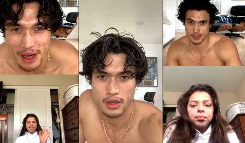 Charles Melton's Instagram Live Stream from March 25th 2020.