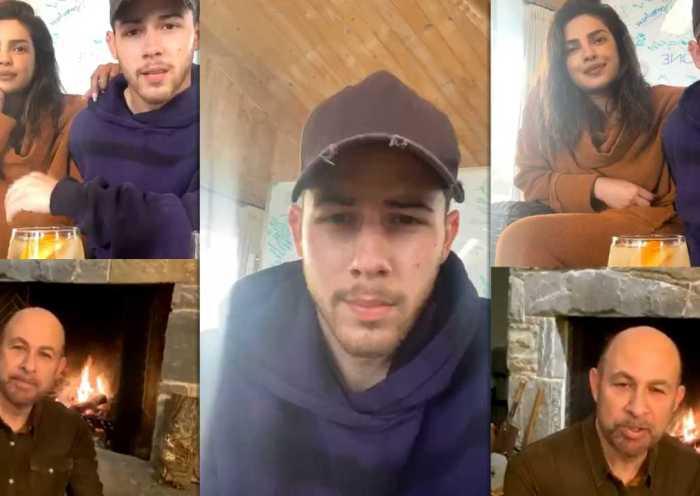 Joe Jonas' Instagram Live Stream from March 26th 2020.