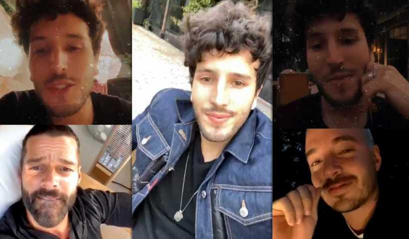 Sebastián Yatra's Instagram Live Stream from March 26th 2020.
