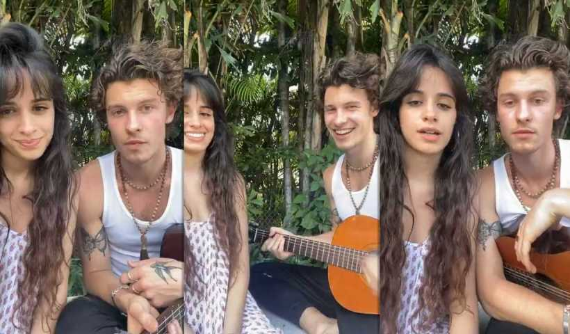 Shawn Mendes's Instagram Live Stream with Camila Cabello from March 20th 2020.