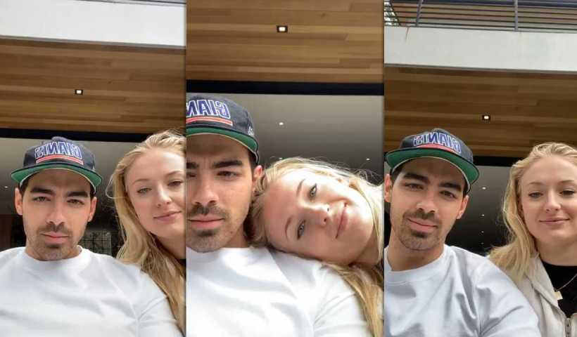 Sophie Turner's Instagram Live Stream with Joe Jonas from March 22th 2020.