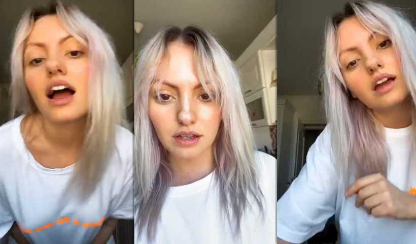 Alexandra Stan's Instagram Live Stream from April 8th 2020.