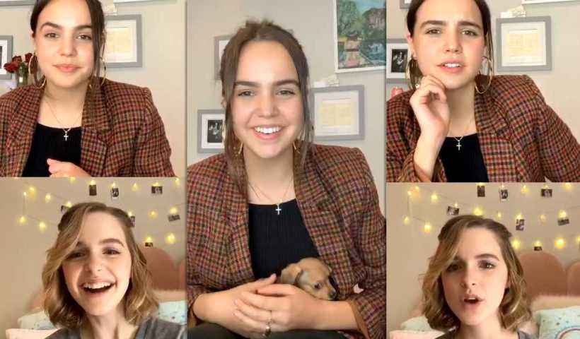 Bailee Madison's Instagram Live Stream with Mckenna Grace from April 15th 2020.