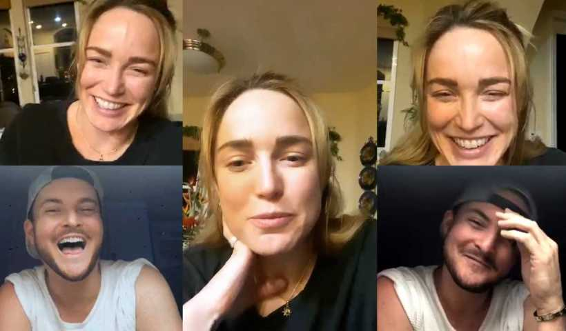 Caity Lotz's Instagram Live Stream from April 21th 2020.