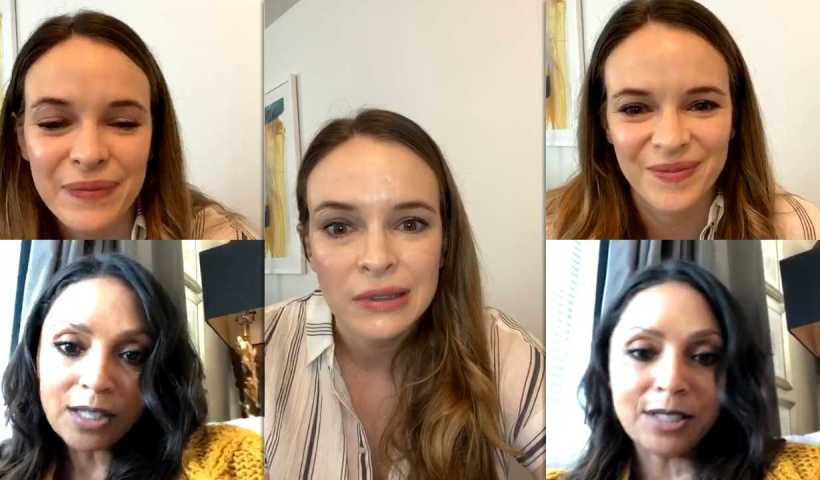 Danielle Panabaker's Instagram Live Stream from April 28th 2020.
