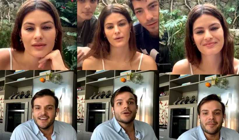 Isabeli Fontana's Instagram Live Stream from April 2nd 2020.