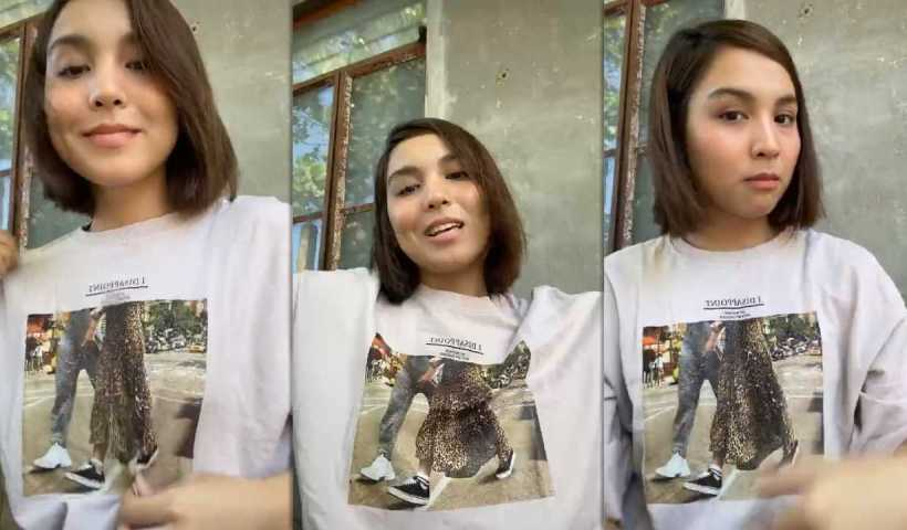 Kyline Alcantara's Instagram Live Stream from March 31th 2020.