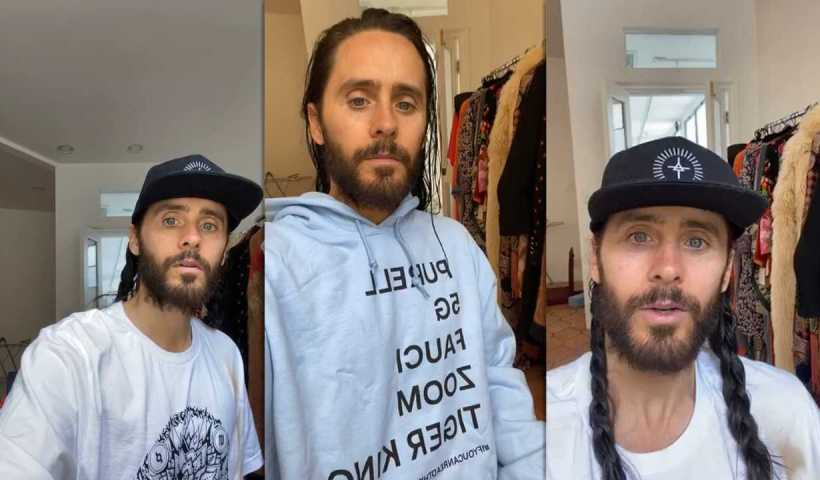 Jared Leto's Instagram Live Stream from April 17th 2020.