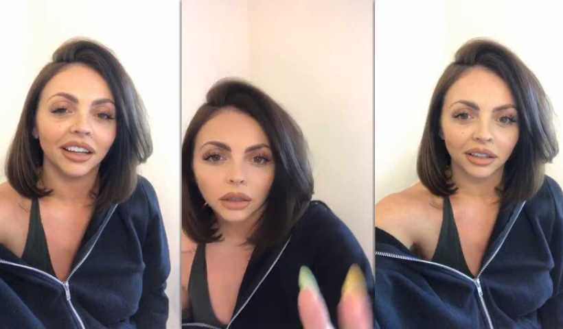 Jesy Nelson's Instagram Live Stream from April 14th 2020.