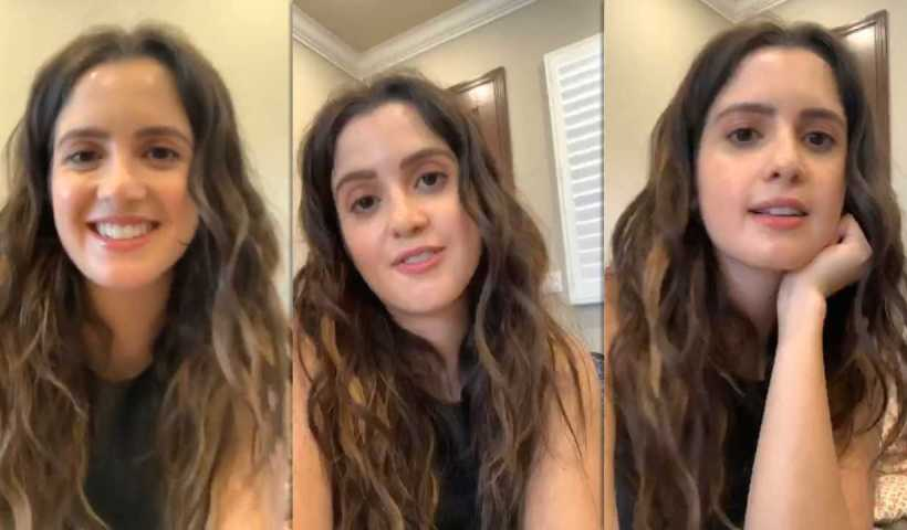 Laura Marano's Instagram Live Stream from April 10th 2020.