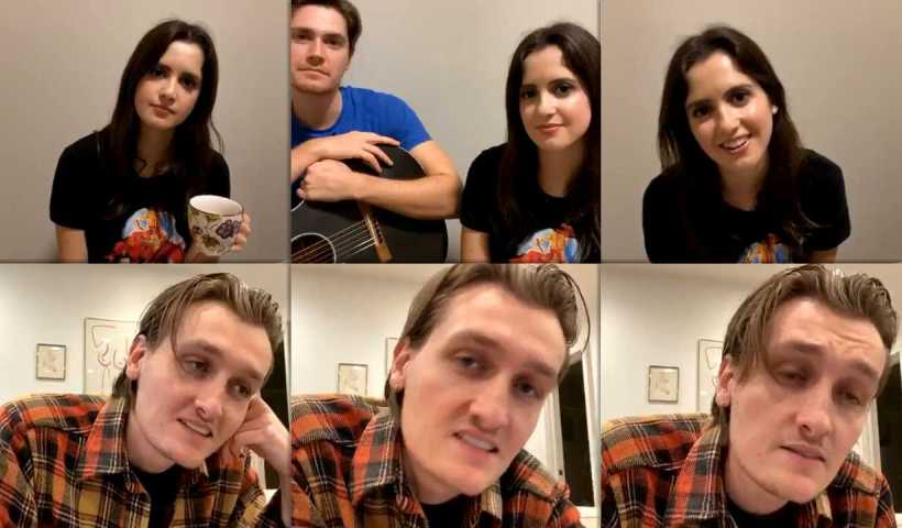 Laura Marano's Instagram Live Stream from April 8th 2020.