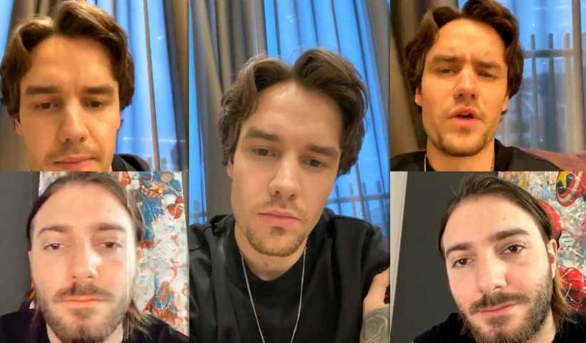 Liam Payne's Instagram Live Stream from April 28th 2020.