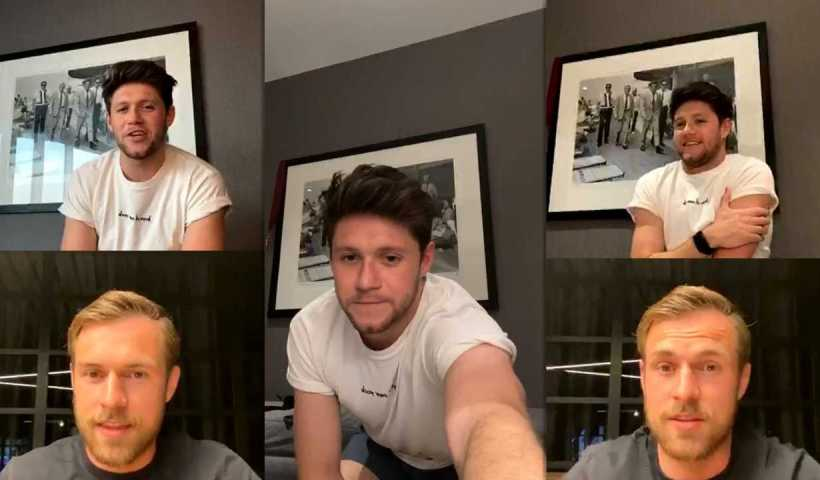 Niall Horan's Instagram Live Stream from April 10th 2020.