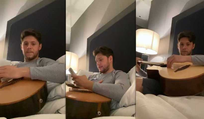 Niall Horan's Instagram Live Stream from April 1st 2020.