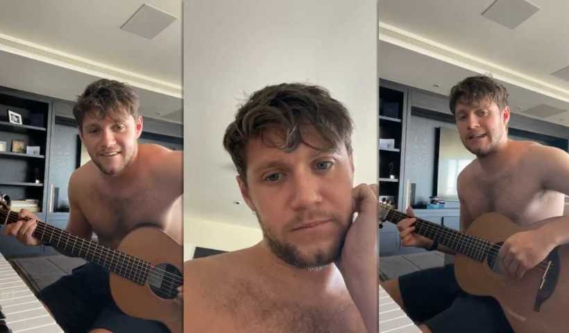 Niall Horan's Instagram Live Stream from April 20th 2020.