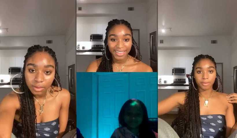 Normani Kordei's Instagram Live Stream from April 18th 2020.