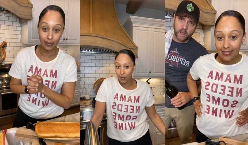 Tamera Mowry's Instagram Live Stream from April 20th 2020.