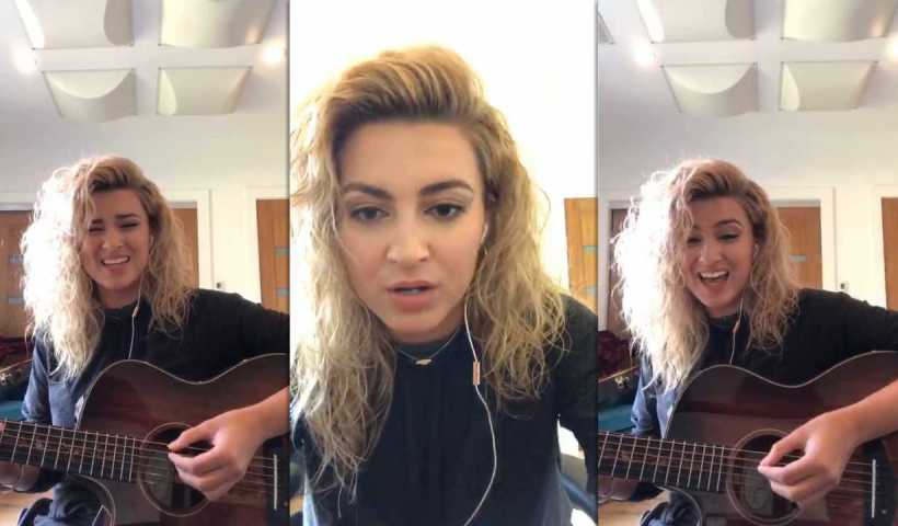 Tori Kelly's Instagram Live Stream from March 30th 2020.