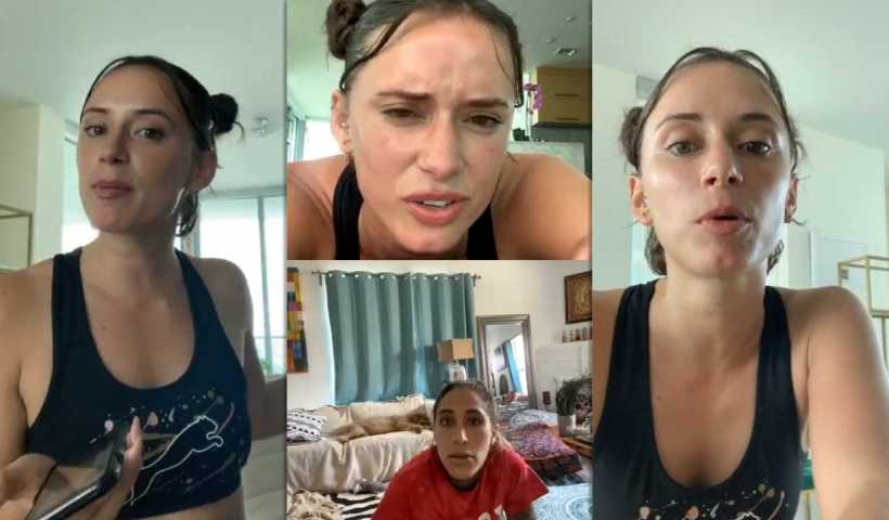 YesJulz's Instagram Live Stream from April 10th 2020.