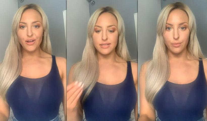 Emma Louise Jones Instagram Live Stream from May 18th 2020.