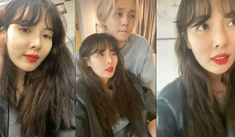 HyunA ( 현아 )'s Instagram Live Stream from May 15th 2020.