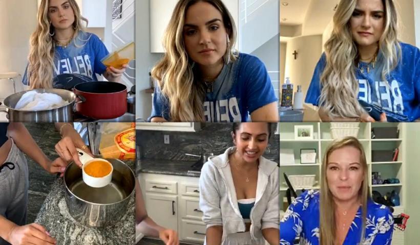 "Joanna ""JoJo"" Levesque's Instagram Live Stream from May 27th 2020."