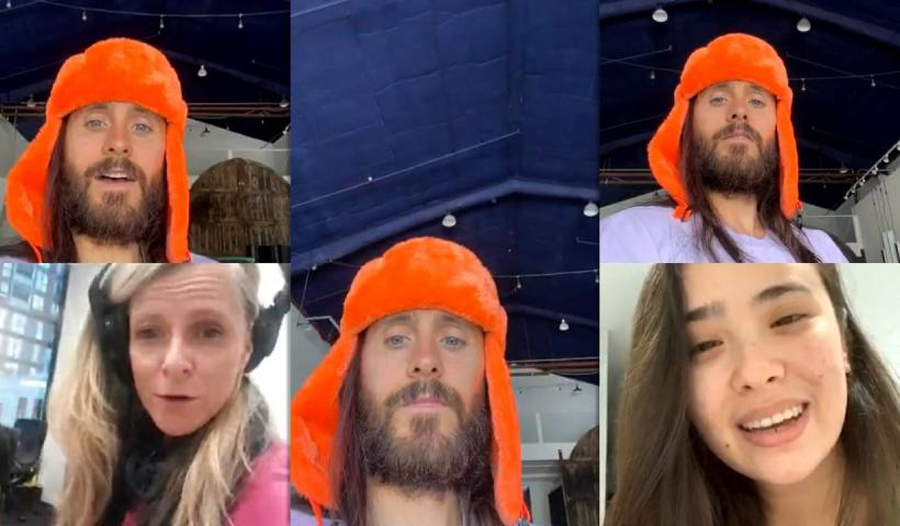 Jared Leto's Instagram Live Stream from May 20th 2020.