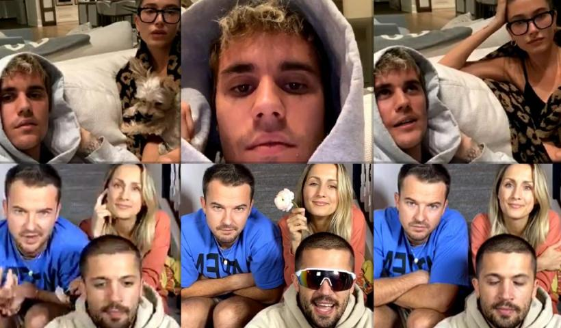 Justin Bieber's Instagram Live Stream from May 12th 2020.