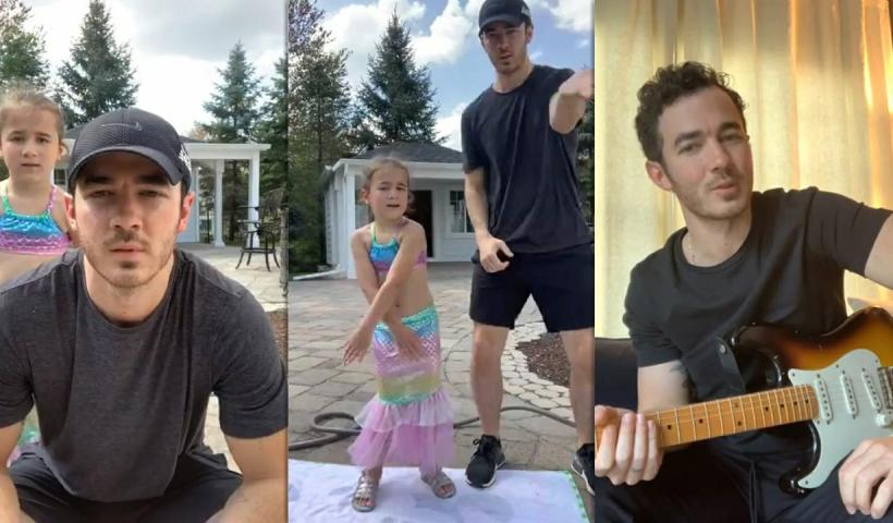 Kevin Jonas Instagram Live Stream from May 15th 2020.