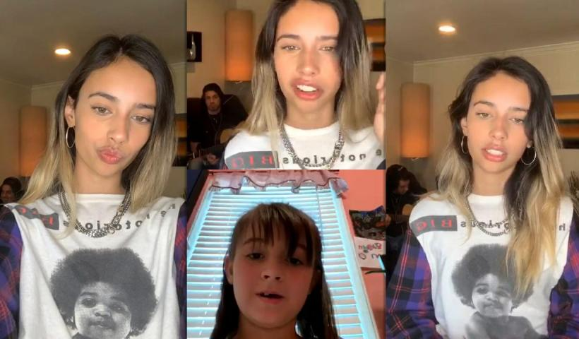 Kylie Cantrall's Instagram Live Stream from May 14th 2020.