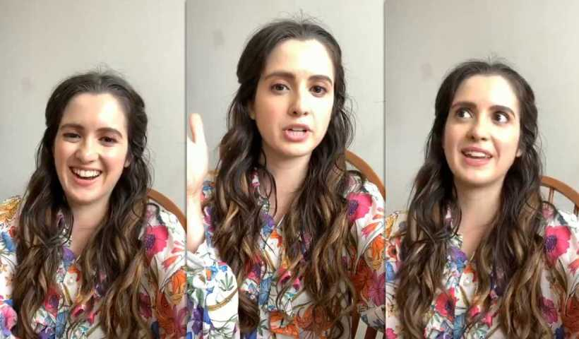 Laura Marano's Instagram Live Stream from May 15th 2020.