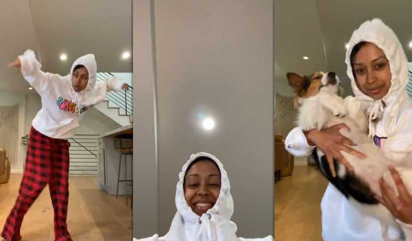 Liza Koshy's Instagram Live Stream from April 30th 2020.