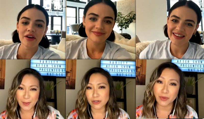 Lucy Hale's Instagram Live Stream from May 14th 2020.