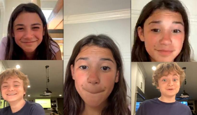 Scarlett Estevez's Instagram Live Stream from May 5th 2020.