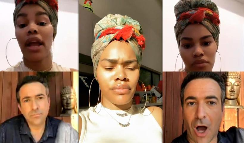 Teyana Taylor's Instagram Live Stream from May 25th 2020.