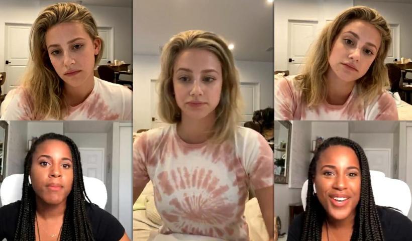Lili Reinhart's Instagram Live Stream from June 9th 2020.