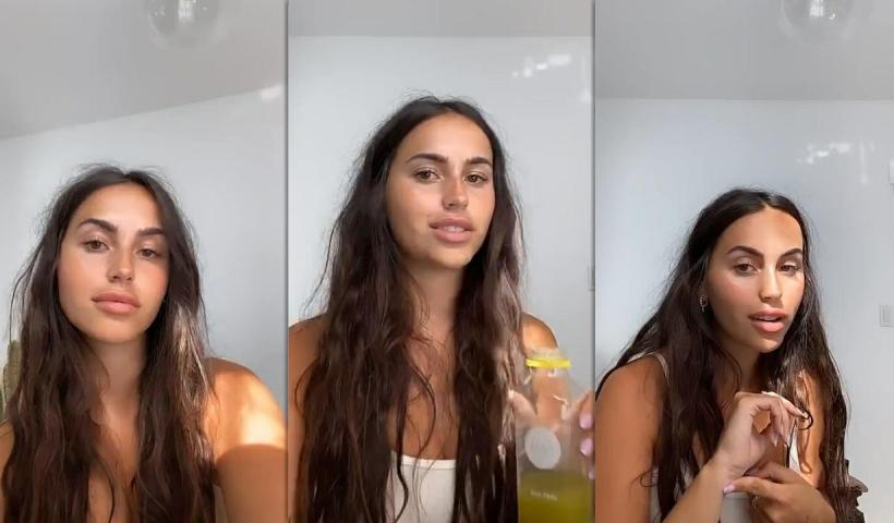 Claudia Tihan's Instagram Live Stream from July 1st 2020.