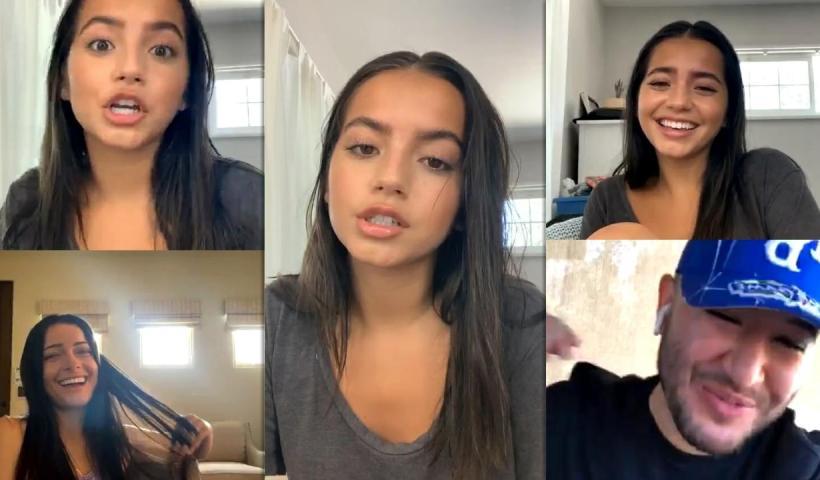Isabela Merced (Moner)'s Instagram Live Stream from July 6th 2020.