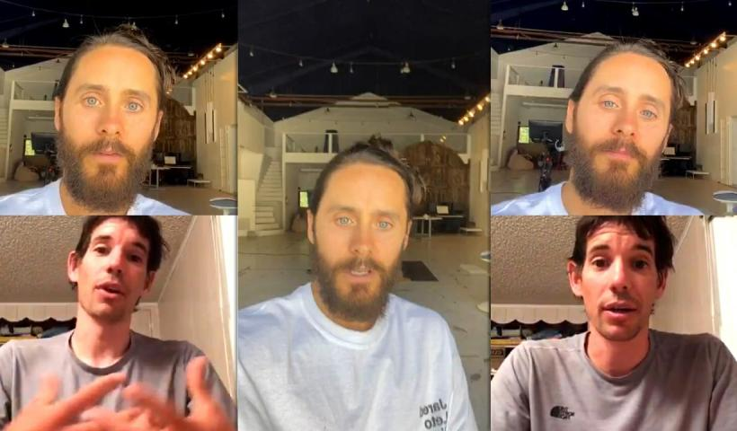Jared Leto's Instagram Live Stream from July 15th 2020.