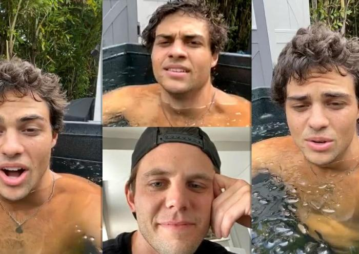 Noah Centineo's Instagram Live Stream from July 2nd 2020.