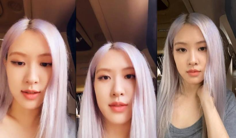 Rosé (BLACKPINK)'s Instagram Live Stream from July 5th 2020.
