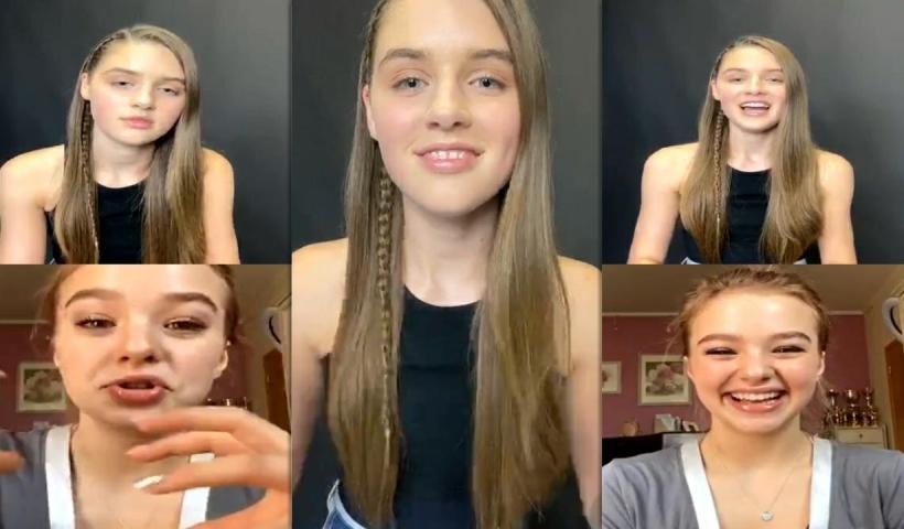 Savannah Clarke's Instagram Live Stream with Sofya Plotnikova from July 11th 2020.